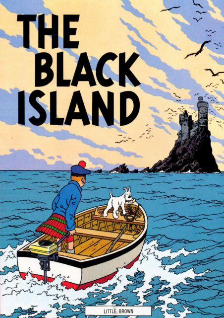 Tintin Tim y Struppi Poster Objectif Lune en el Camino para Luna Cartel