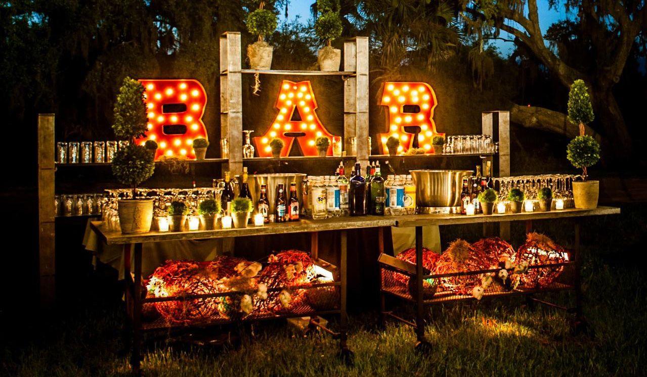 amazing outdoor bars amazing lights outdoor bar jpg creative