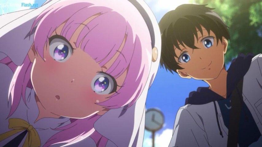 kamisama ni natta hi anime anime angel anime love