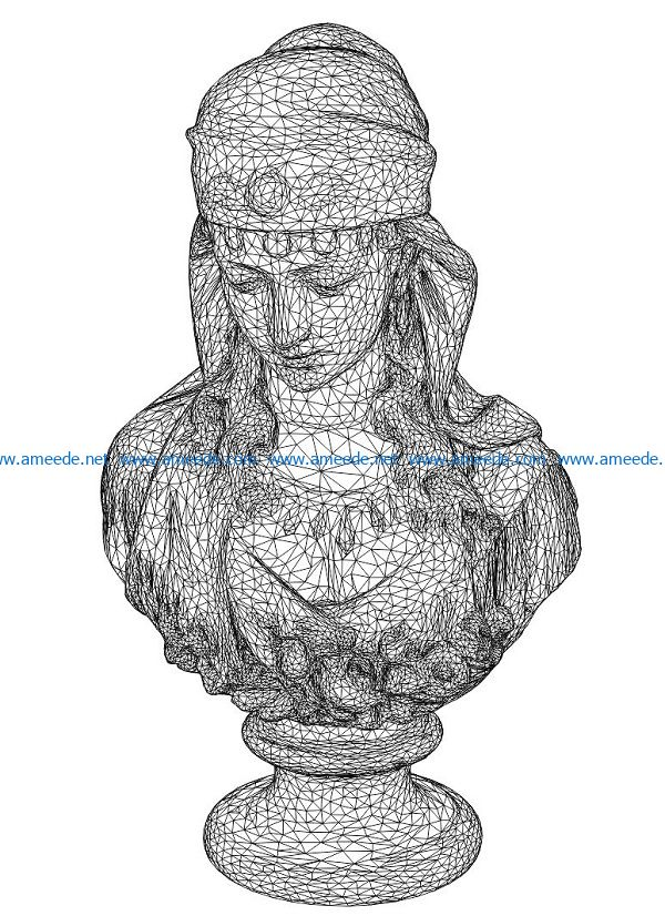 3d Illusion Led Lamp Goddess Free Vector Download For Laser Engraving Machines Download Free Vector In 2020 Vector Free Laser Engraving Machine Vector Free Download