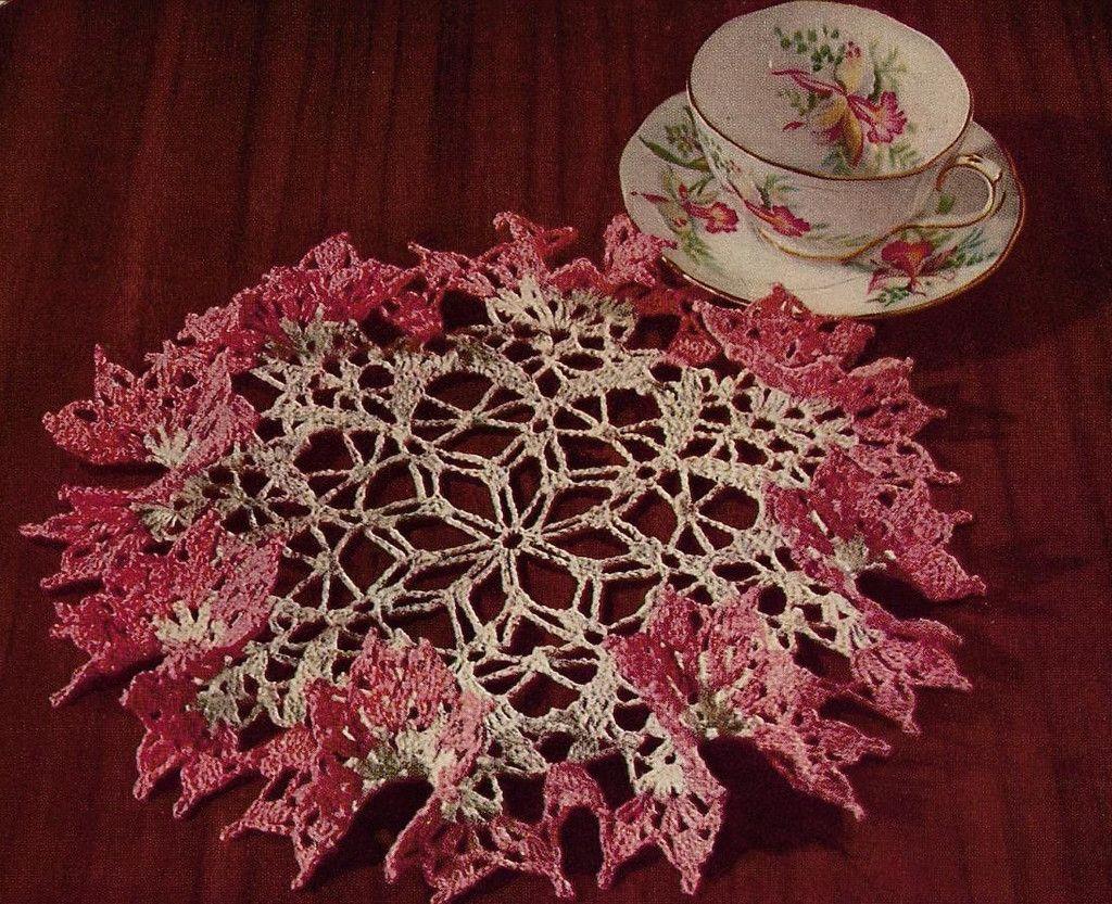 1950s Vintage Crochet Book American Thread Star Book 143 Pretty ...