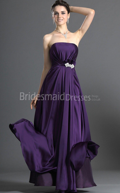 Purple long bridesmaid dresses a purple wedding pinterest purple long bridesmaid dresses ombrellifo Images