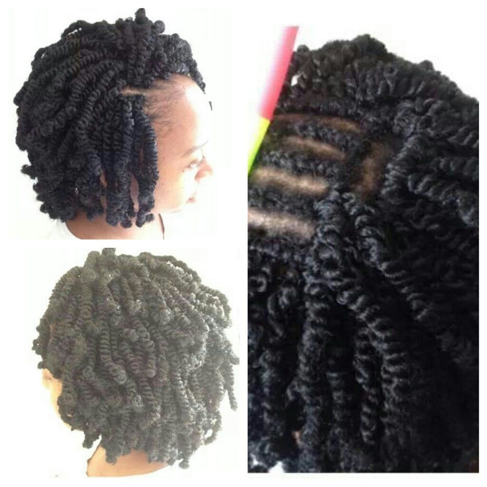 Nubian twists crochet braids | Yelp | Braids | Pinterest ...
