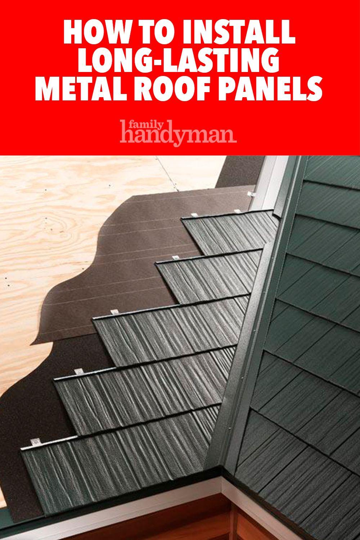 Long Lasting Metal Roof Panels Metal Roof Panels Roof Panels Metal Roof Installation