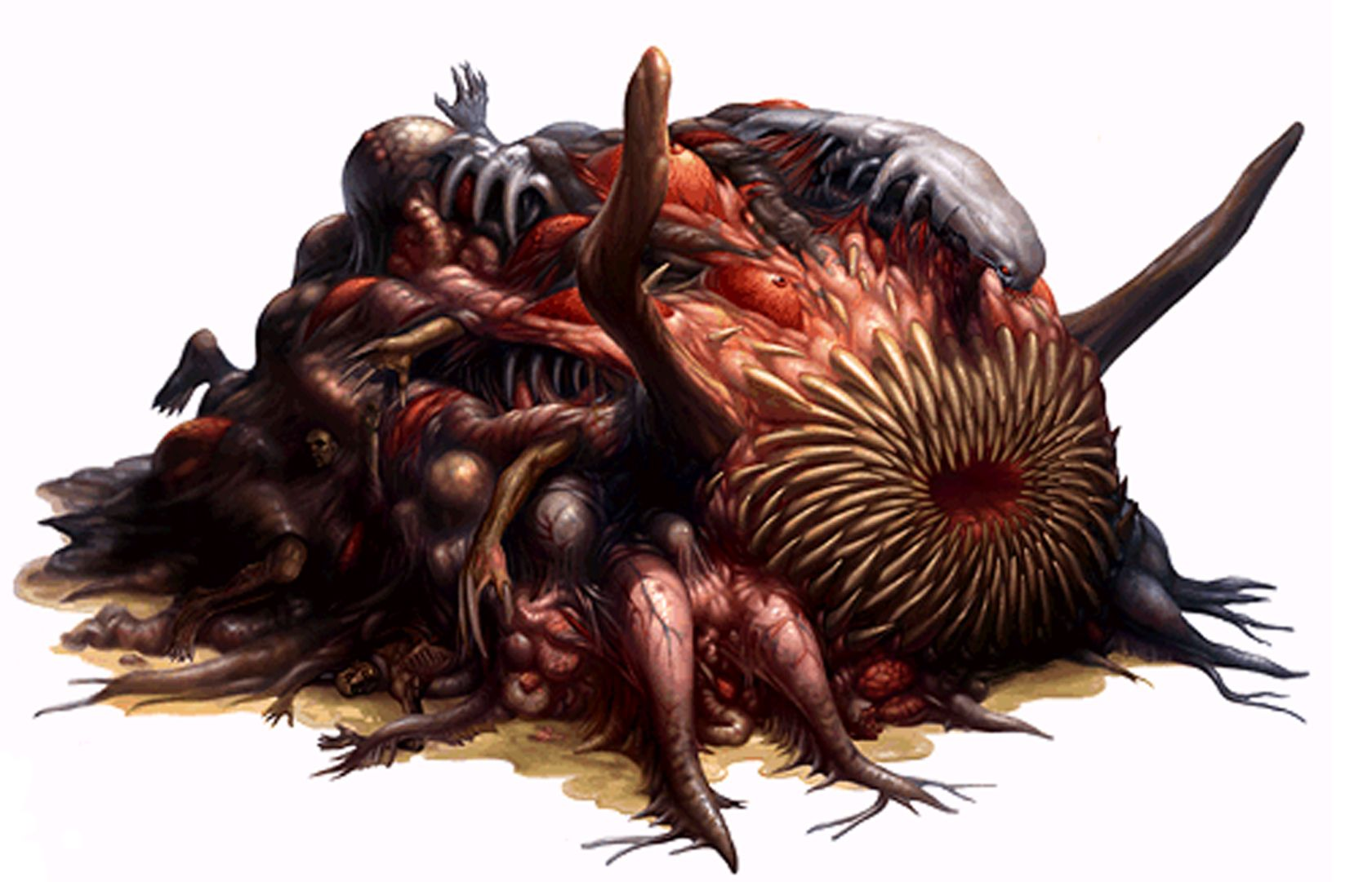 Resident Evil 2 William Birkin Final Form Resident Evil Monsters