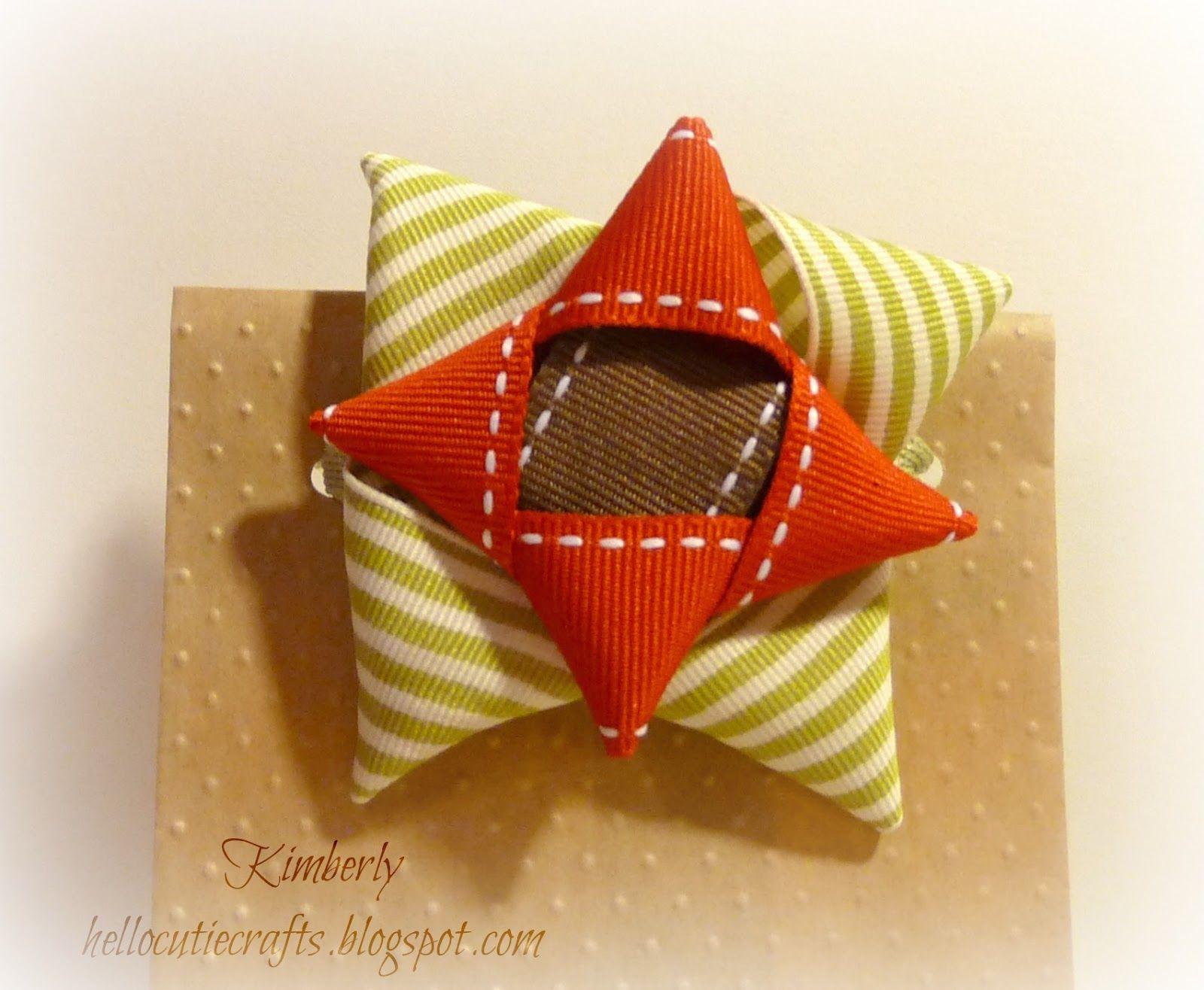 Kimberly's Crafty Spot: Ribbon Scraps Bow tutorial