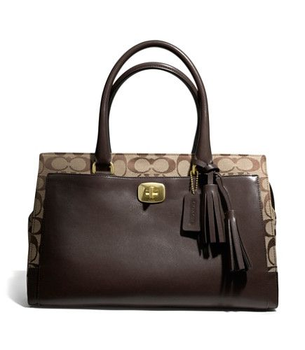 COACH LEGACY CHELSEA CARRYALL IN SIGNATURE