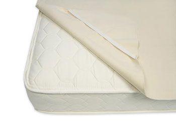 Dry Defender Organic Cotton Waterproof Crib Mattress Pad The Crib