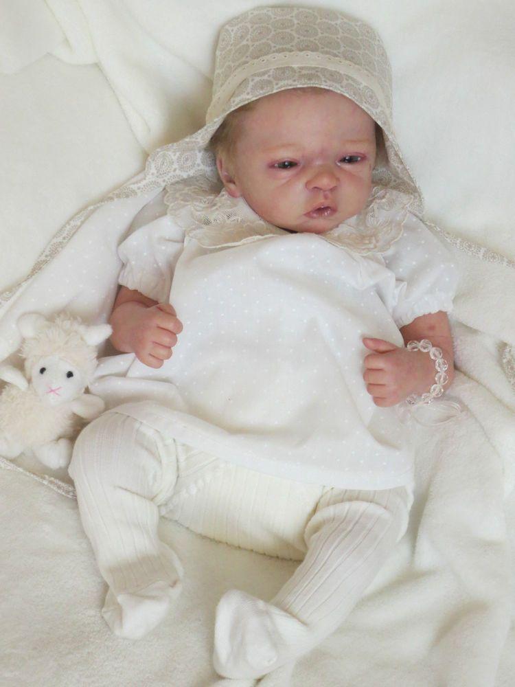 Reborn Baby Doll ELODIE by Evelina Wosnjuk