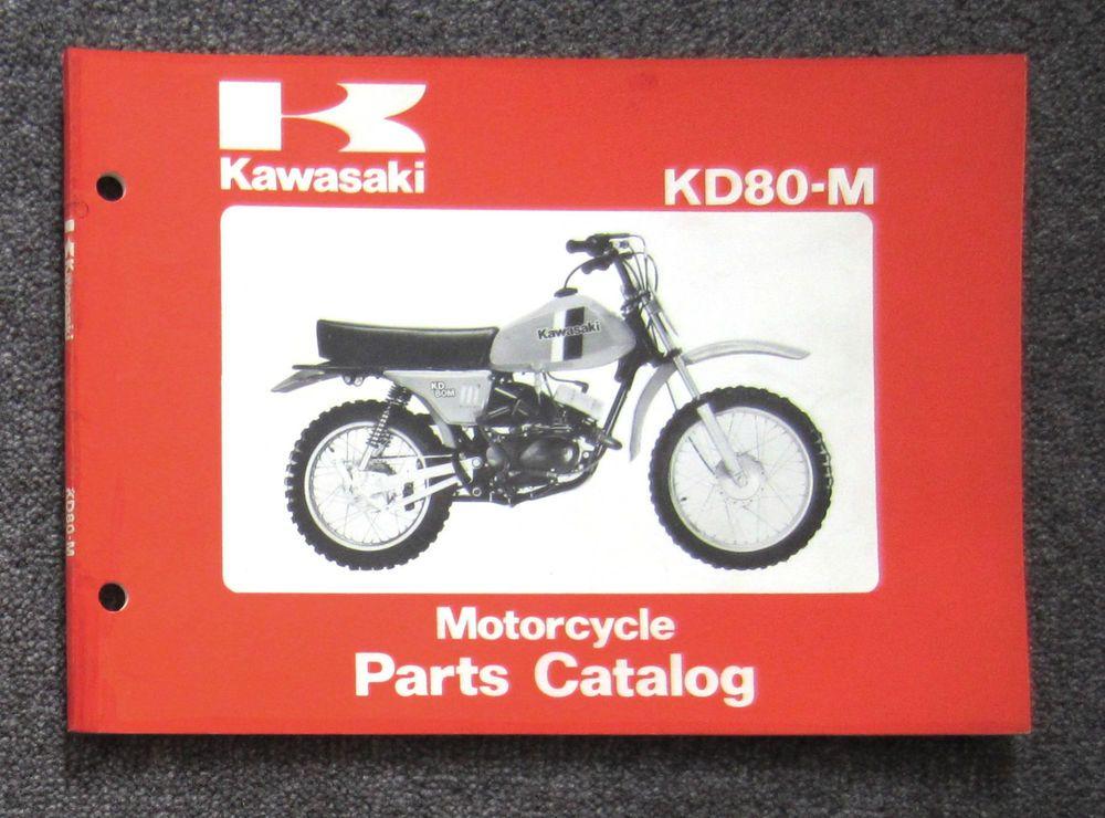 KAWASAKI KD80 | Vintage Motocross Bikes | Motorcycle parts