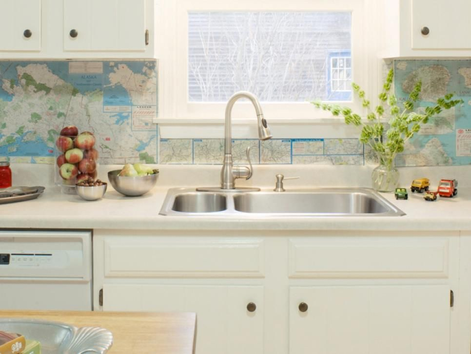 7 Budget Backsplash Projects Diy Kitchen Kitchen Remodel