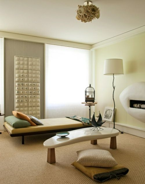 Minimalistische Meditation Raum Designs - Verbesserung und