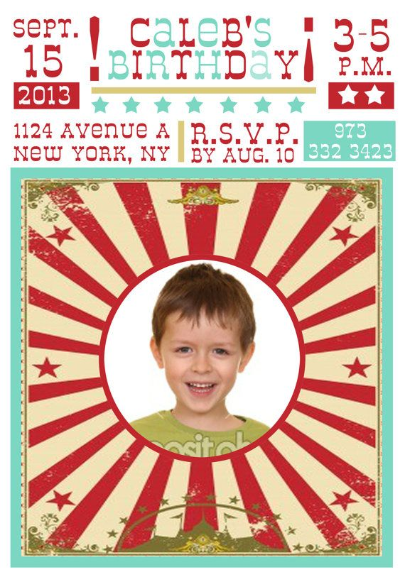 Circus theme birthday party circus invitation circus door CMLDesigns