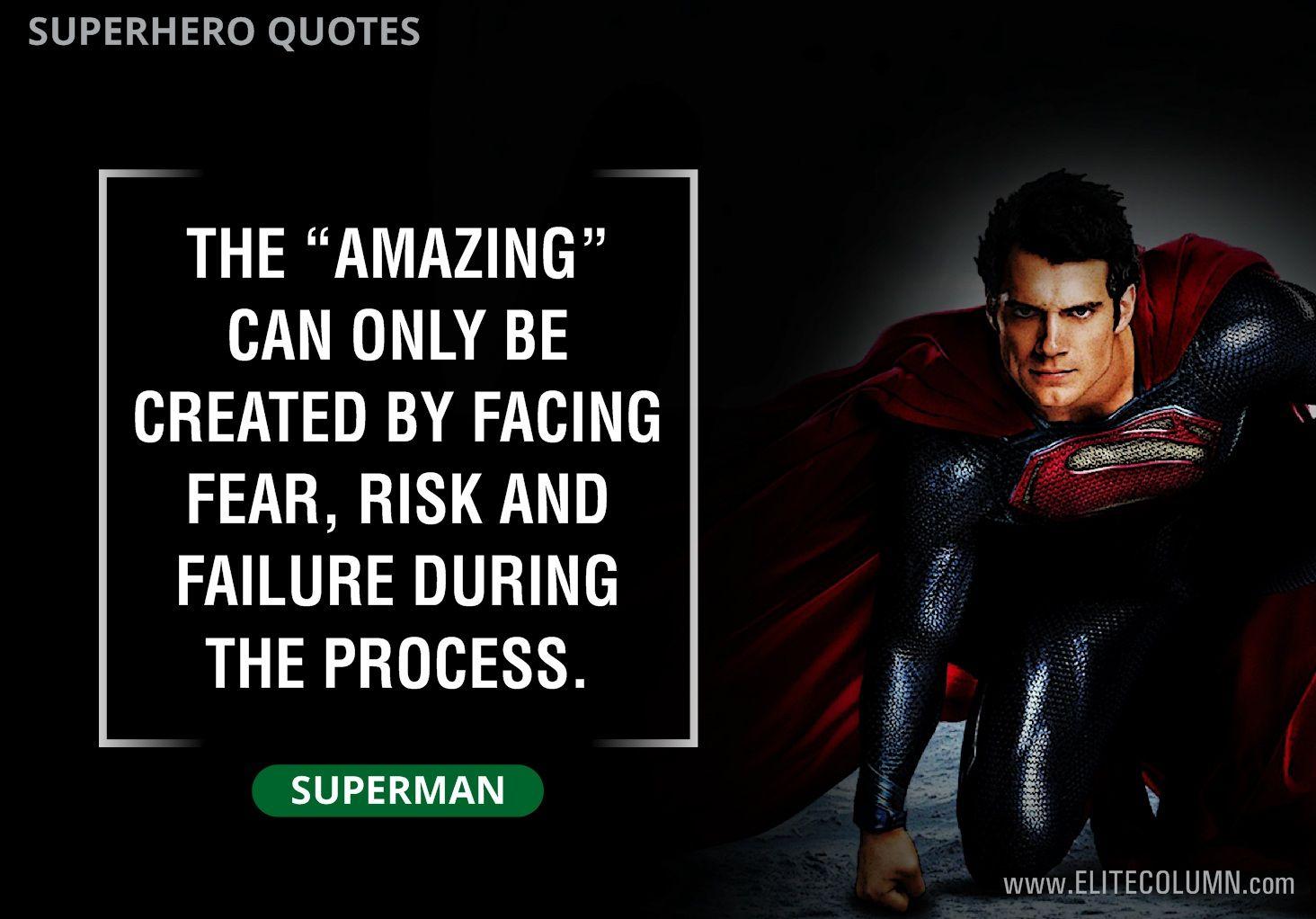 11++ Superman quote info