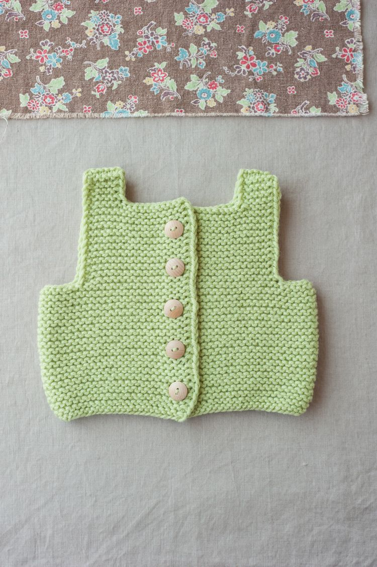 basics for babe ebook, kyoto vest by carrie bostick hoge / quince & co. lark