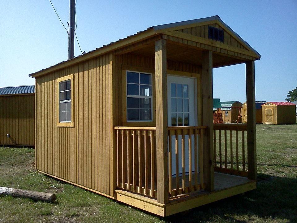 Cabin- Premier Portable Buildings 12 x 32 $7,170 Buy or ...
