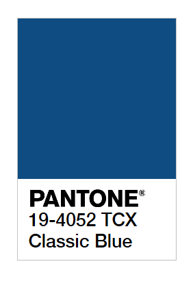 New York Fashion Week Spring / Summer 2020 Pantone Colours / COLORS- CLASSIC BLUE