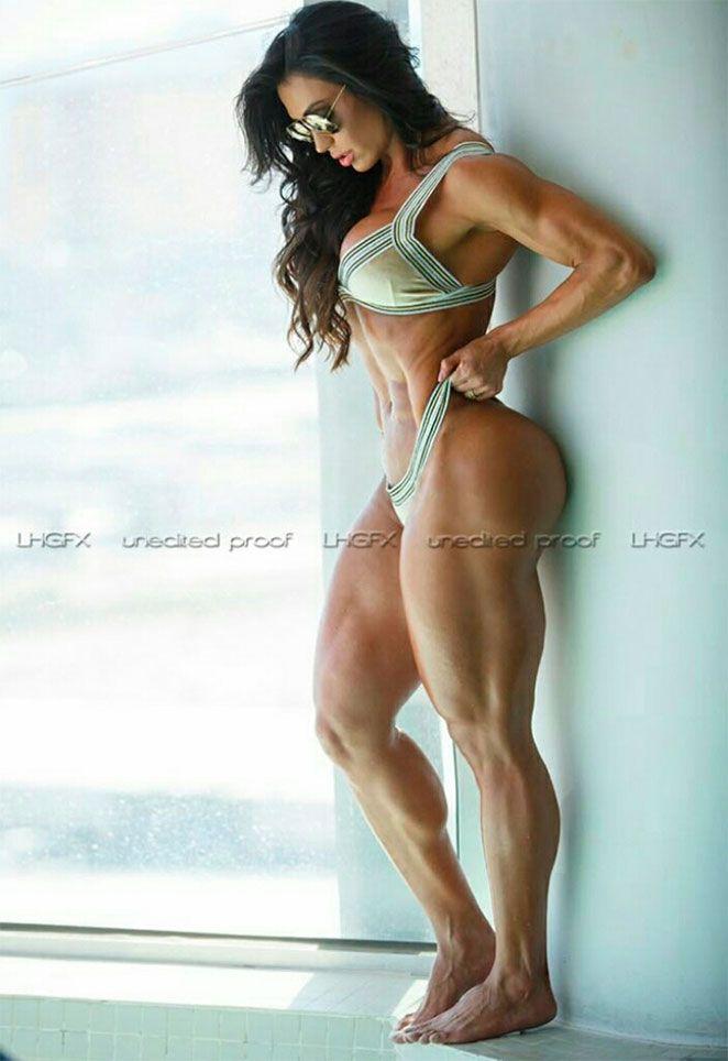 Bodybuilder sexy muscle female