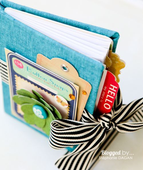 Tutorial to build a little book of envelopes. Cover and all! So cute. I love minis!!