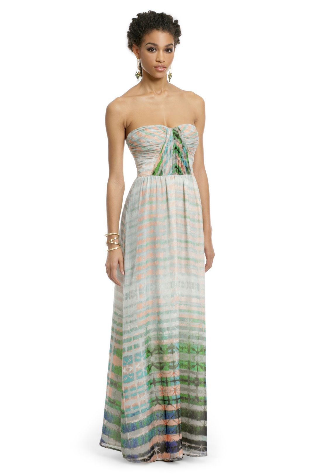 Rent wedding dresses  Twelfth Street by Cynthia Vincent Pastel Kaleidoscope Maxi  Itus