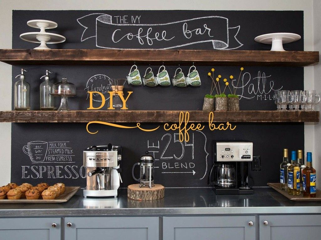 diy coffee bar, fixer upper-Mission Stone Tile | New House ...