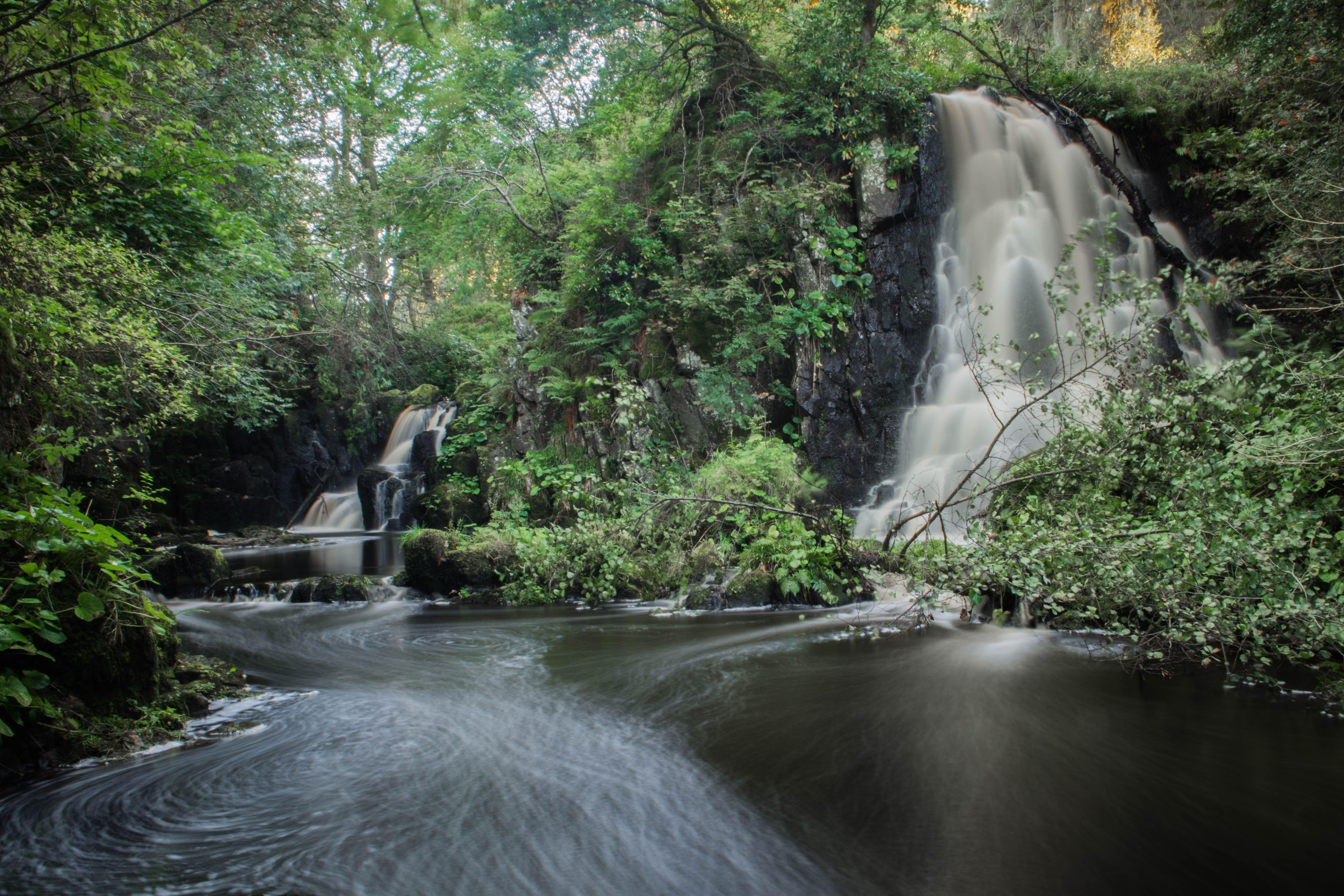 Photo by aneta owsianka nature waterfalls pinterest