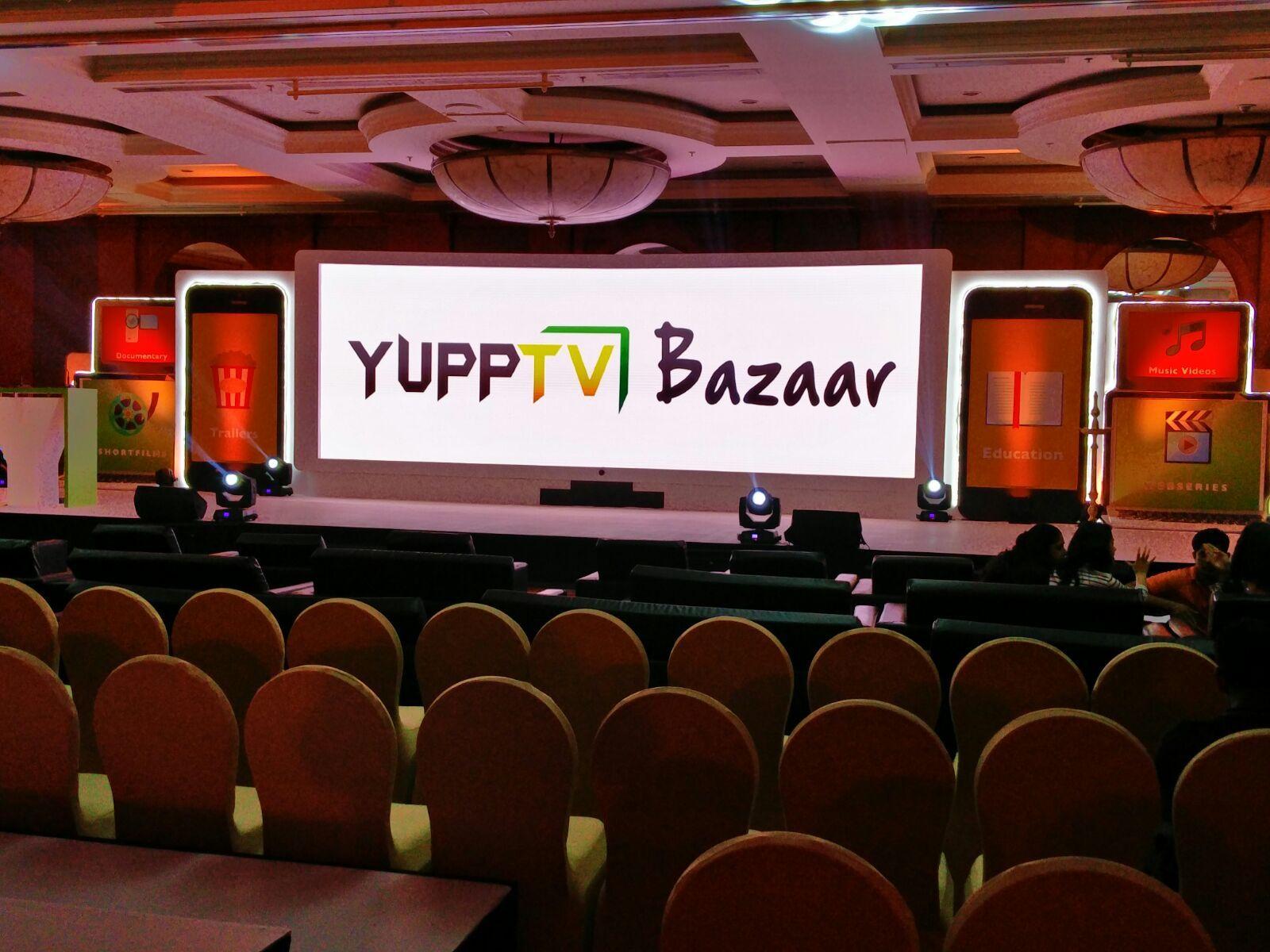 Yupptv bazaar launch