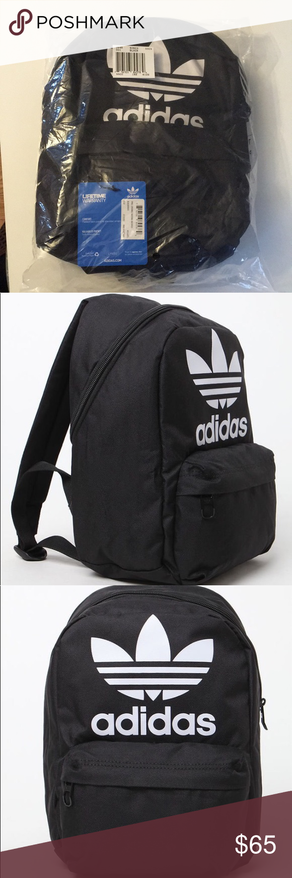addb11145954 Adidas Originals trefoil backpack Brandnew with tag