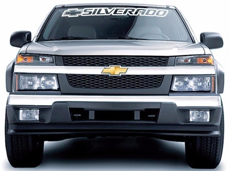 3ft Chevy Bowtie Rear Window Large Vinyl Decal Sticker