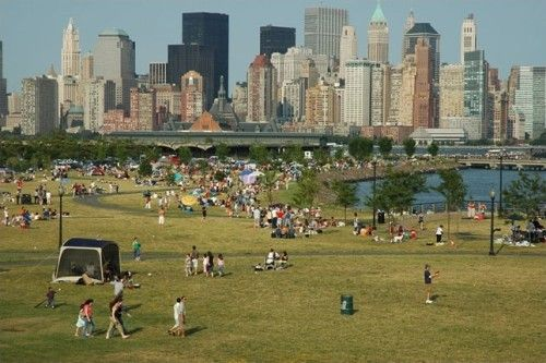 Liberty State Park, a sprawling park that pushes up against the Hudson, is a great place for a picnic, sailing lessons or even just a game of catch.