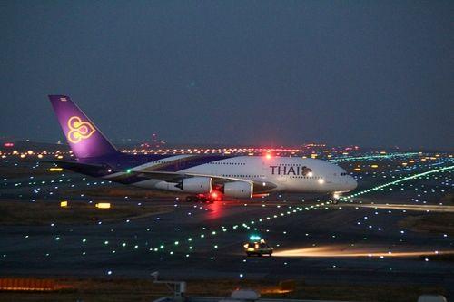 TG, A380 at KIX