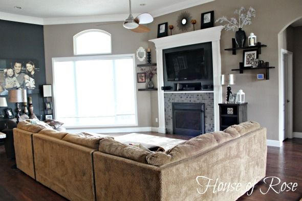 Grey living room furniture on grey family room furniture sets - Our Paint Colors Are Very Soon To Look Like This Mark