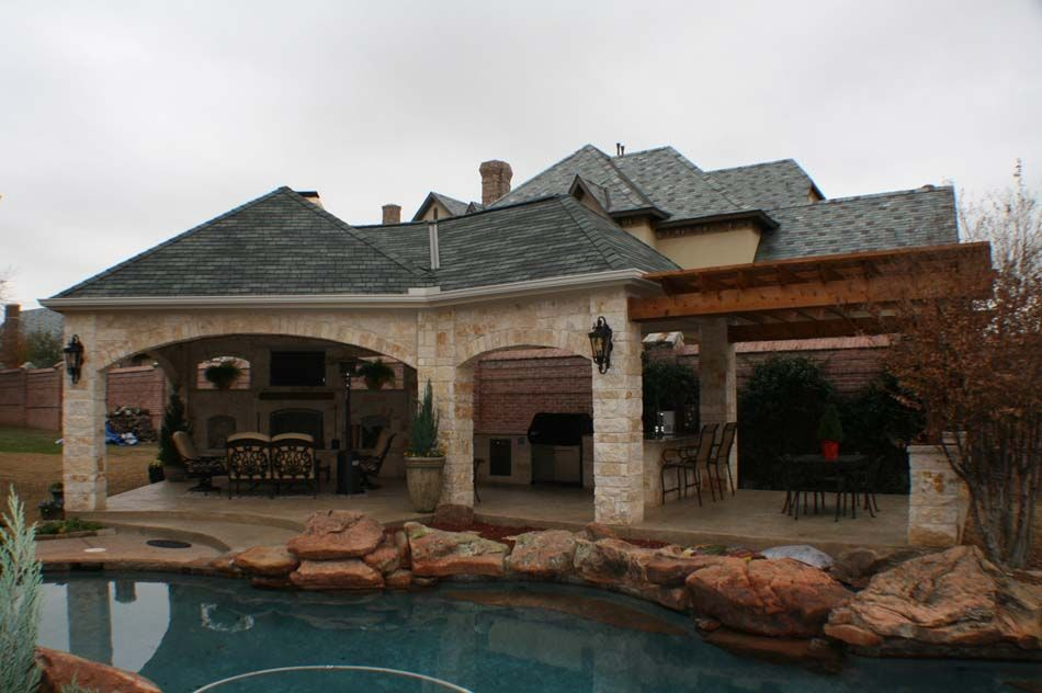 Back Yard Cabanas | Pool Side Cabanas | Austin Decks, Pergolas, Covered  Patios