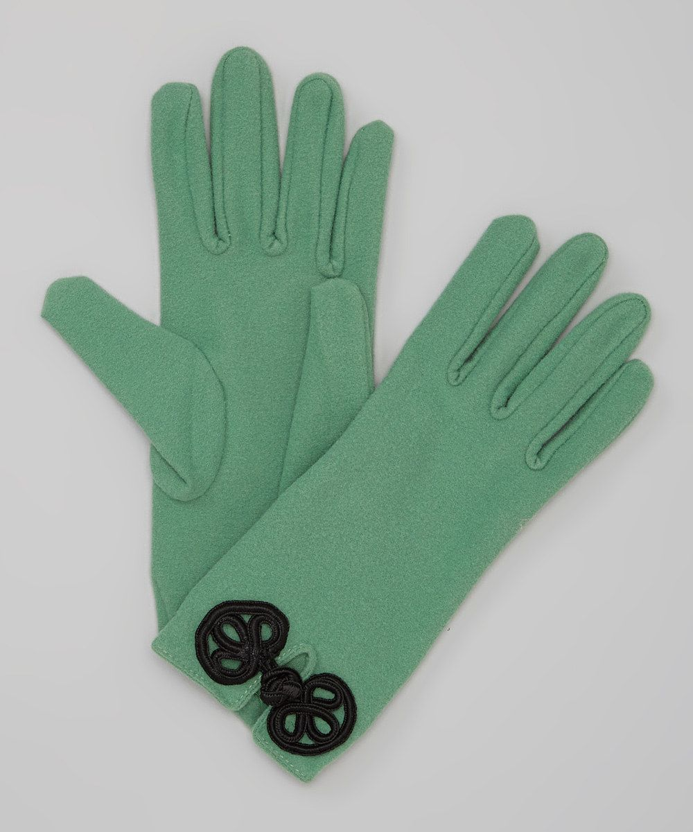 Take a look at this Green Knot Gloves on zulily today!