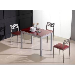 Mesas y sillas cocina | MESA LUCY 100X60 | Mesas de cocina pequeñas ...