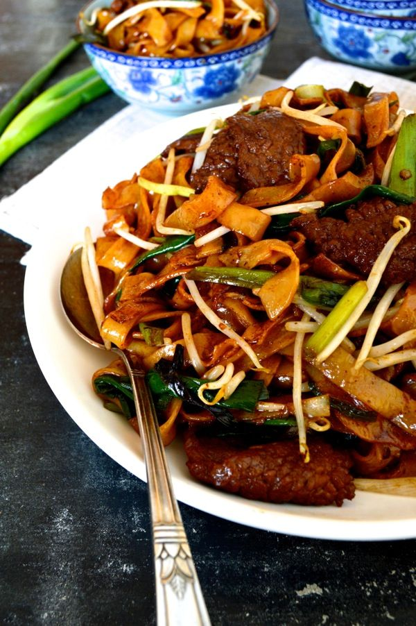 Would try this recipe if I could find chow fun noodles in my area.  This is my favorite Chinese noodle dish.  Definite comfort food for me! Beef Chow Fun Noodles (gon chow ngau ho) - The Woks of Life