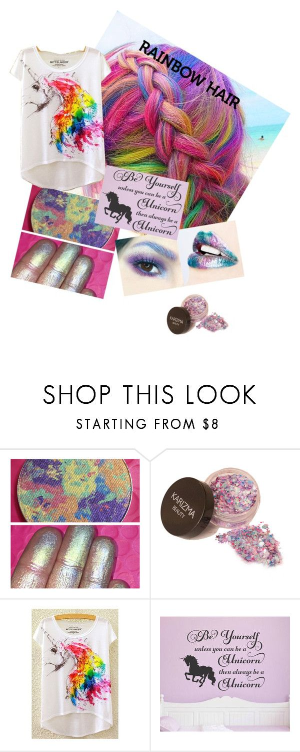 """""""unicorn"""" by dione-klassen ❤ liked on Polyvore featuring beauty"""