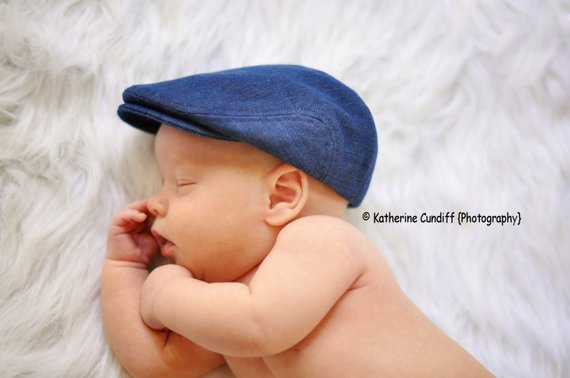 Denim baby hat 06f2a58f7cb