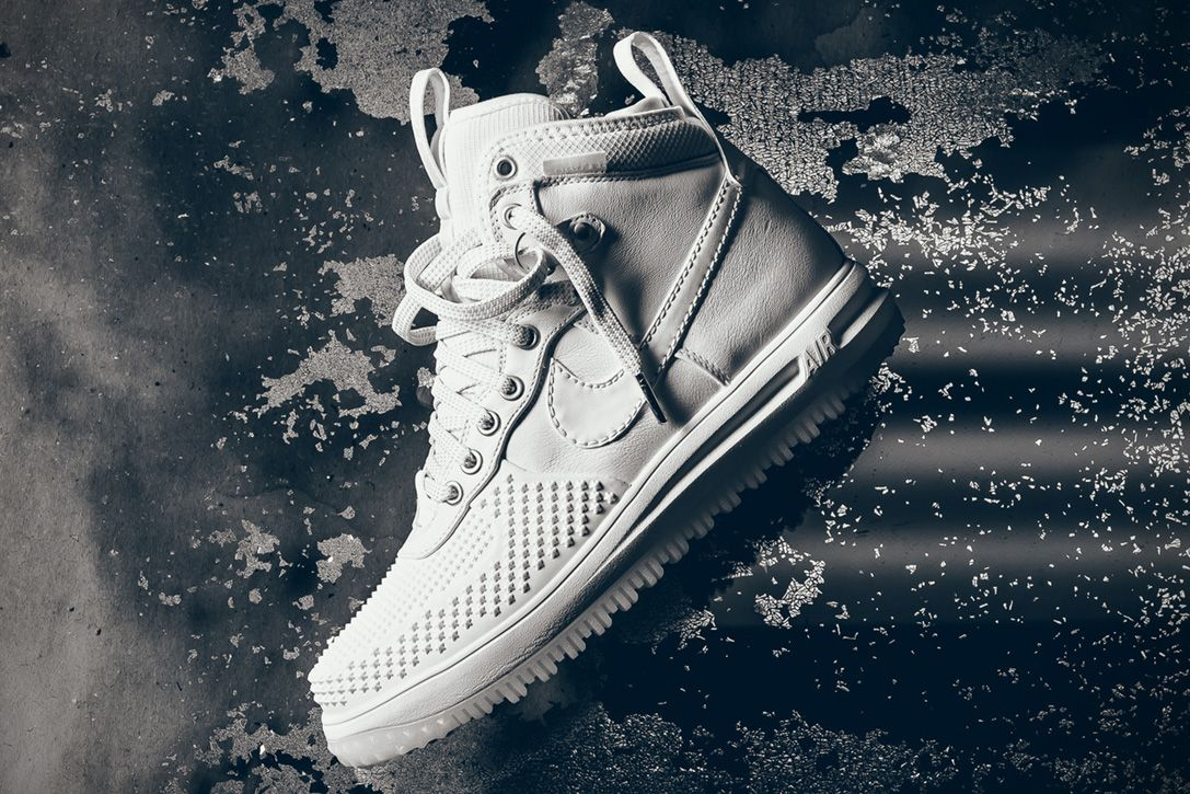 Conquer Winter With Nike's Heavenly White Lunar Force 1 Duckboot