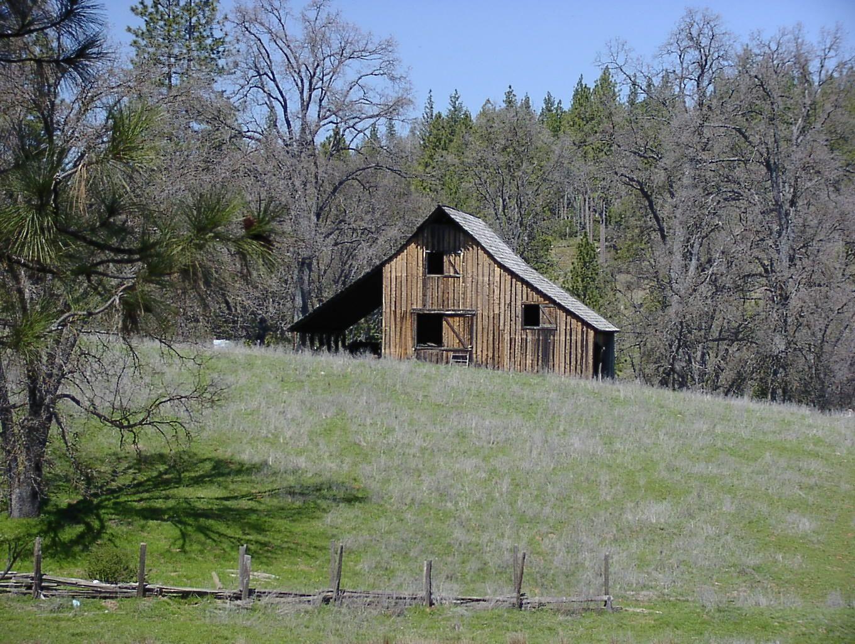 'Little House on the Prairie' barn - rumored!