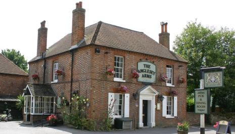 Anglesey Arms, Halnaker, Sussex Family friendly pub