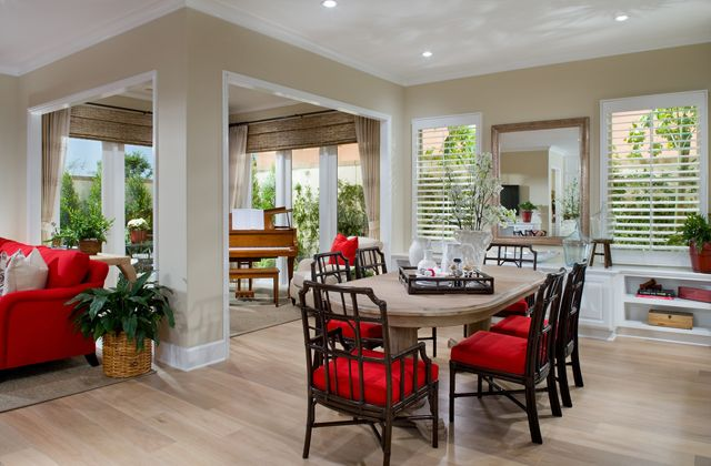 Irvine pacific model homes