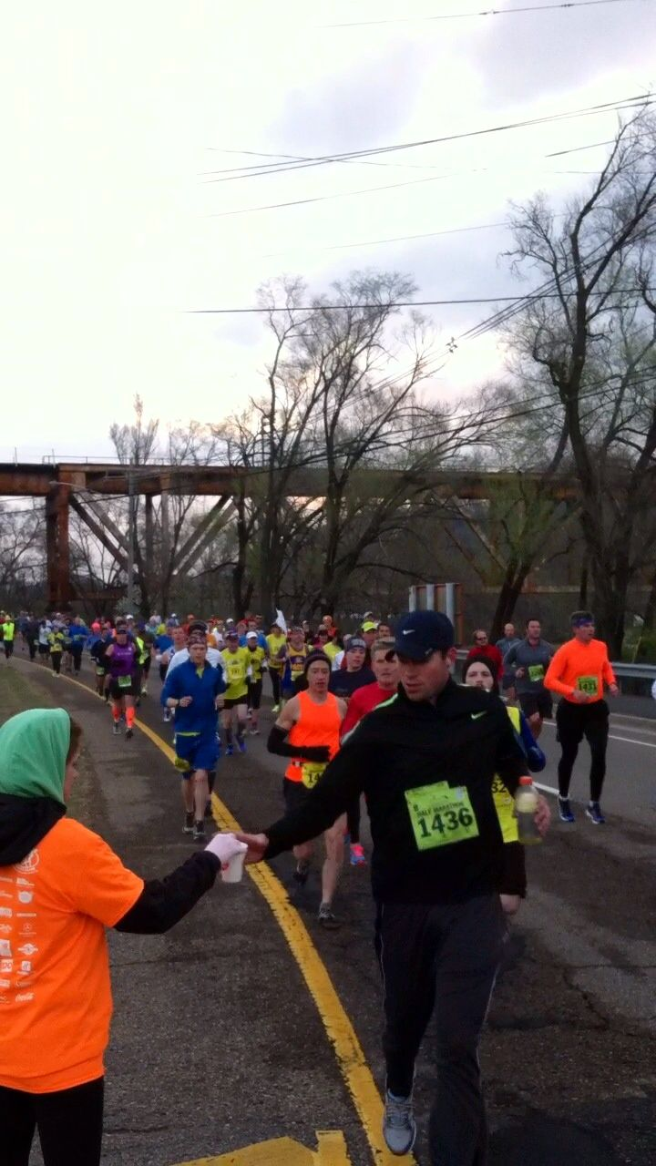 All Sorts Of Thirsty Runners So Glad We Could Be A Part Of The Covenant Health Knoxville Marathon This Year Glad The Covenant Health