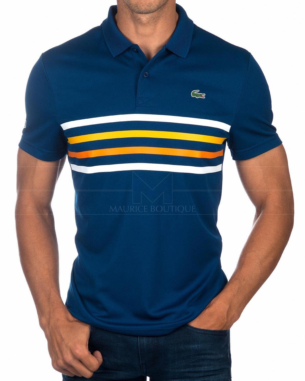 93af0d78812 Polos LACOSTE ® Sport Hombre ✶ Bouton Azul