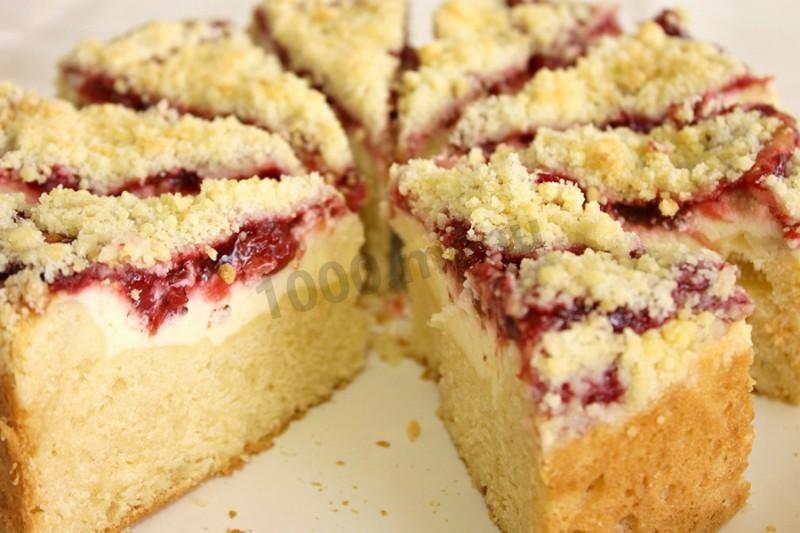Пирог с творогом и вареньем Королевская ватрушка | Рецепты ...
