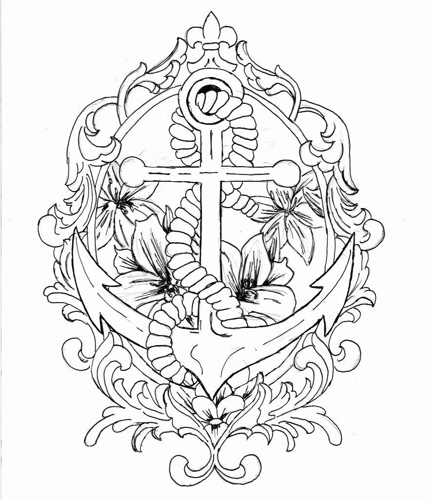 Preacher Designs | dibujar | Pinterest | Anclas y Dibujar