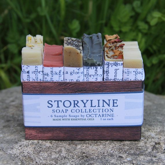 Some stories can only be told with a well crafted perfume. Cant decide between our storyline soaps? Try them all! This uniquely perfumed soap
