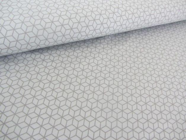 Stoff Grafische Muster Jersey Grafische Muster Hellgrau Grau Ein Designerstuck Von Misskriss Sews It Up Bei Dawanda Grafische Muster Dawanda Muster