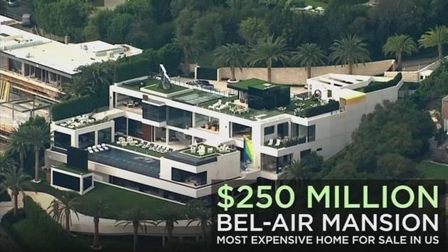 A Bel Air Mansion Is The Most Expensive Home For Sale In The