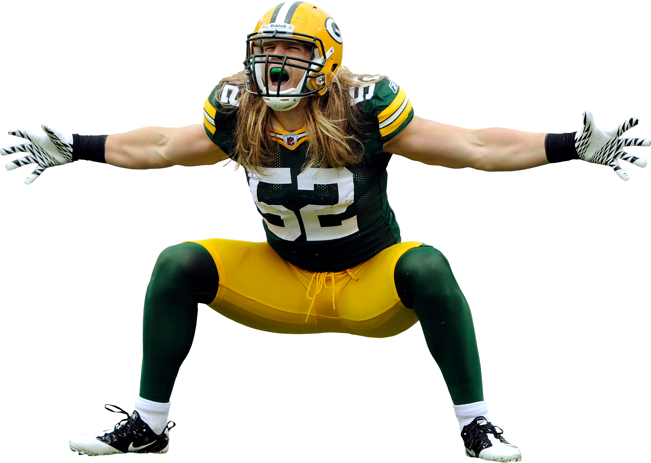 Clay Matthews Green Bay Packers Green Bay Packers Fans Clay Matthews